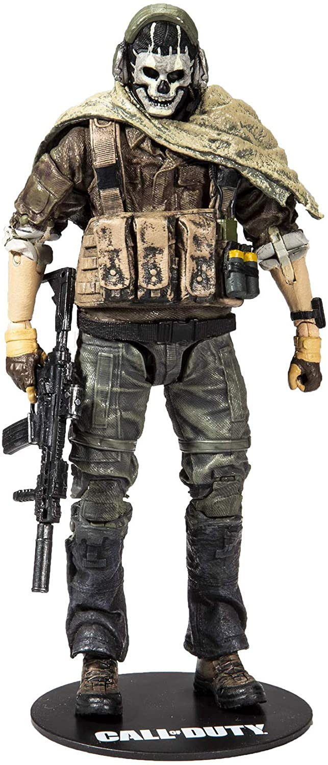 Amazon Com Mcfarlane Toys Call Of Duty Ghost 2 Action Figure