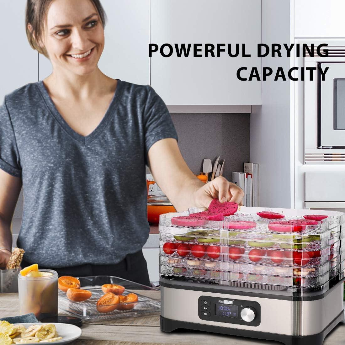 VIVOHOME-Electric-400W-5-Trays-Food-Dehydrating-Machine