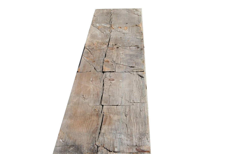 Wilson Wood Crafts Rustic Hand Hewn Barn Beam Mantel 5x5-48 inches Long