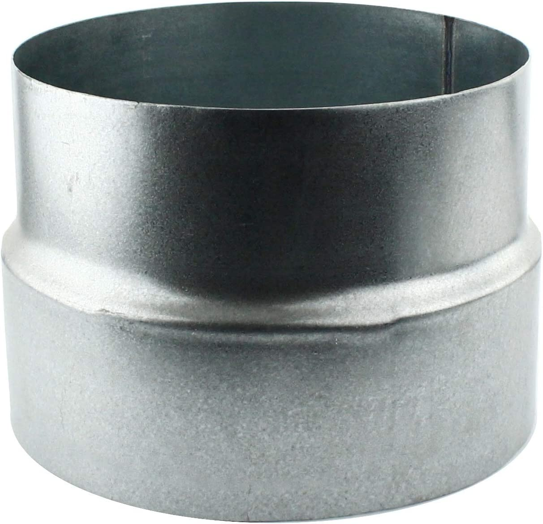 /Pieza reductora Reducci/ón aluminio Flex Tubo Flex Tubo Wick de ventilaci/ón ELF ALZ Tubo galvanizado /18112/ MKK/