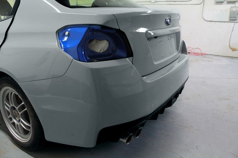 VVIVID+ Gloss Elephant Grey Nardo Gray Vinyl Car Wrap Film DIY Easy to Install No-Mess Decal (60ft x 5ft)