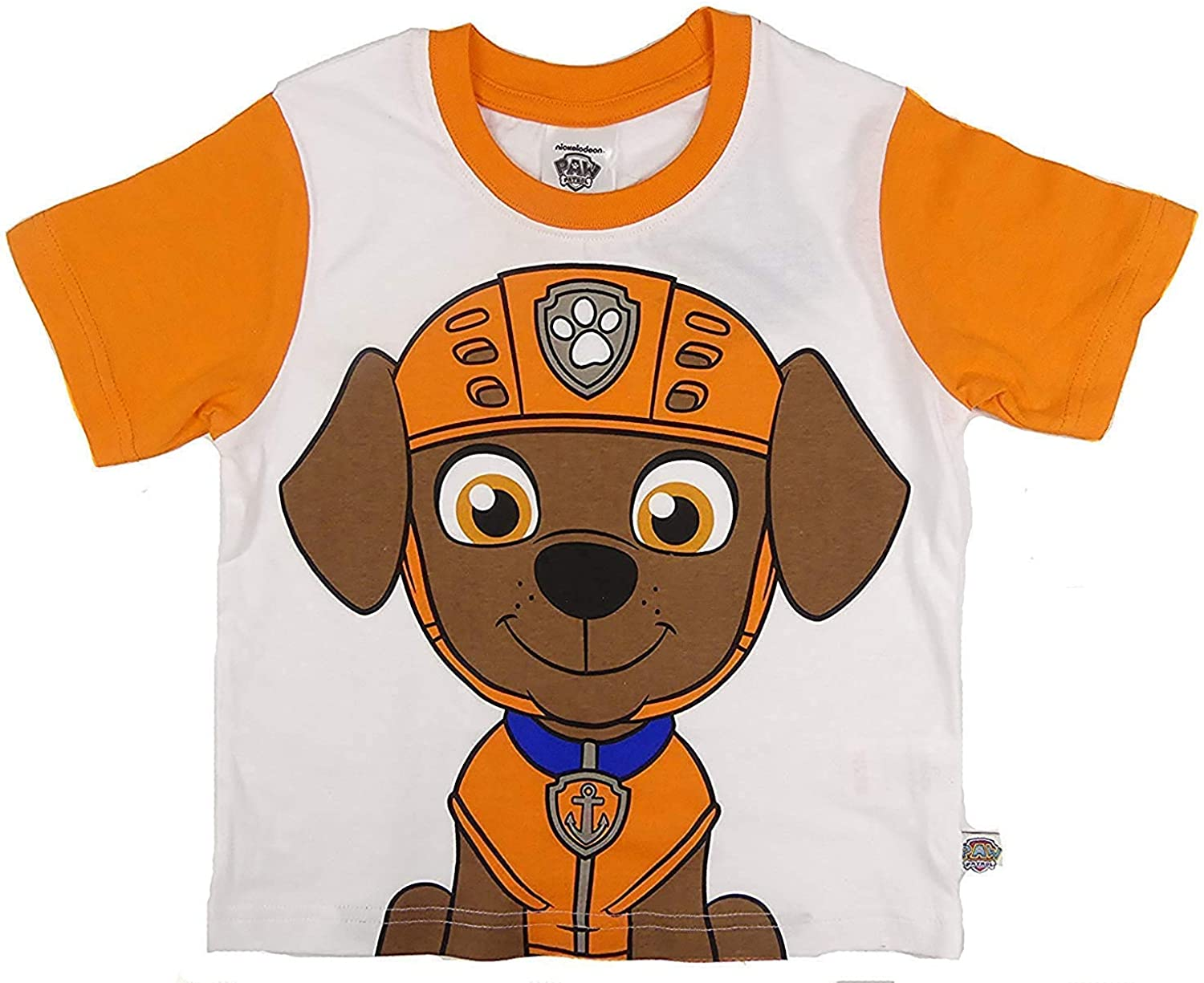 Paw Patrol T-Shirts Marshall Chase Zuma Or Rocky Four To Choose From 2-3 To 6-7Y