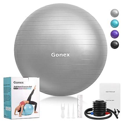 Gonex Balón de Ejercicio Pelota de Equilibrio para Yoga ...