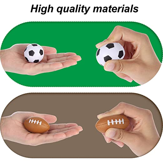Amazon.com: Bolas de estrés para deportes, 48 unidades ...