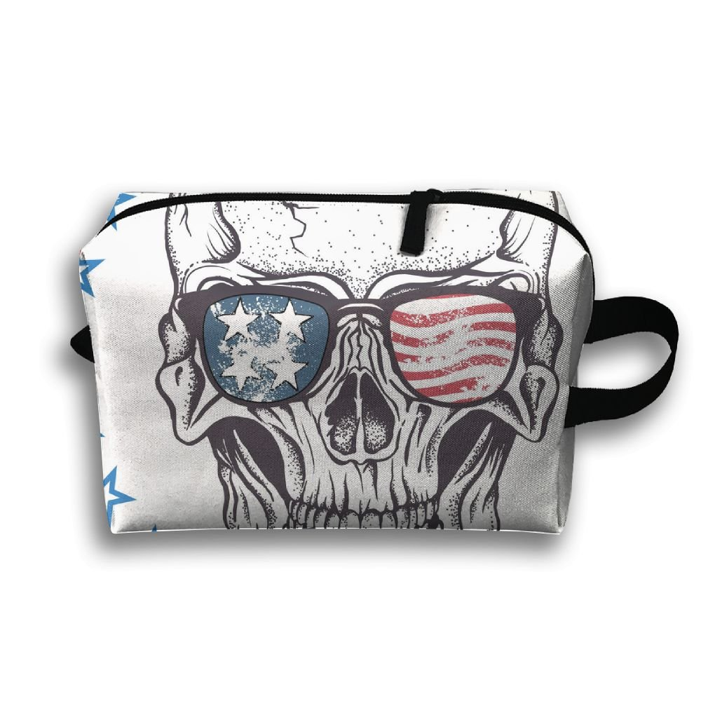 1a4d93cdca1c outlet Skull Flag Small Travel Toiletry Bag Super Light Toiletry Organizer  For Overnight Trip Bag