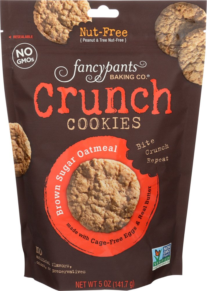 Fancypants Baking Co. Crunch Cookies Brown Sugar Oatmeal by Fancy Pants
