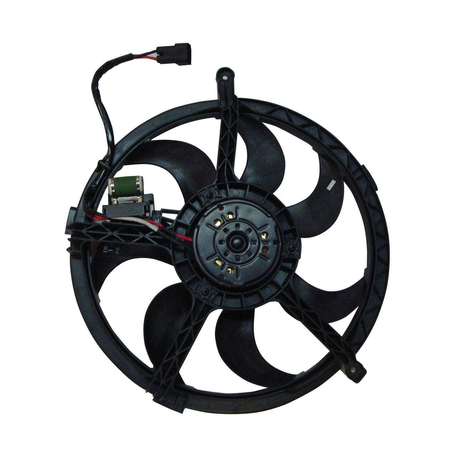 TYC 622560 Replacement Cooling Fan Assembly for MINI Cooper S