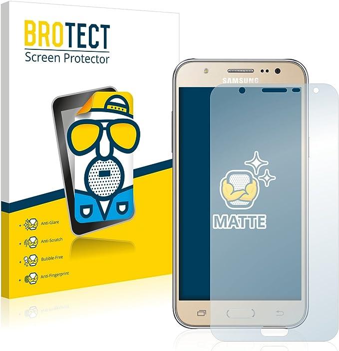 2x Samsung Galaxy J5 2016 Mate Película De Protección Protector De Pantalla Antirreflejo