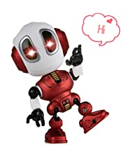 ALLCELE Fun Recording Talking Robot for Boys little Kids toys,Education Toys For Toddlers Kids Birthday Presents Gifts for 3-12 Year Old Boys Toy Age 3-12