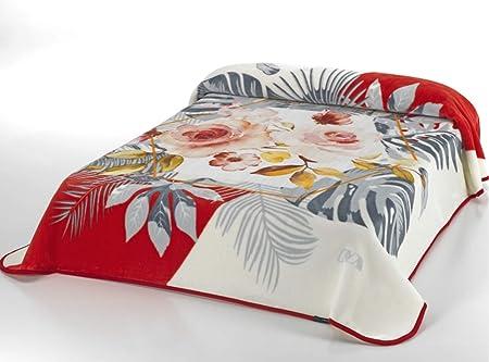 España Mora arranview magia 038 bestdeal doble capa de manta 220 x 240 cm marrón: Amazon.es: Hogar