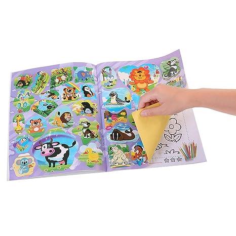 Funnyrunstore Bebé Libro de Dibujo Niños Artesanía DIY ...