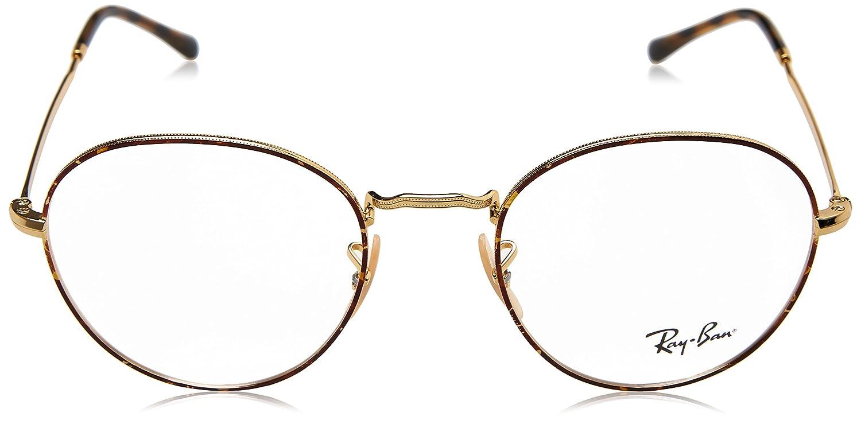 9139267399 Amazon.com  Eyeglasses Ray-Ban Optical RX 3582 V 2945 GOLD ON TOP HAVANA   Clothing