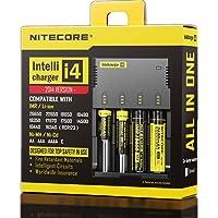 Carregador de Pilha Nitecore Intellicharger i4 V2 Li-ion/NiMH P/ 4 Pilhas Bivolt