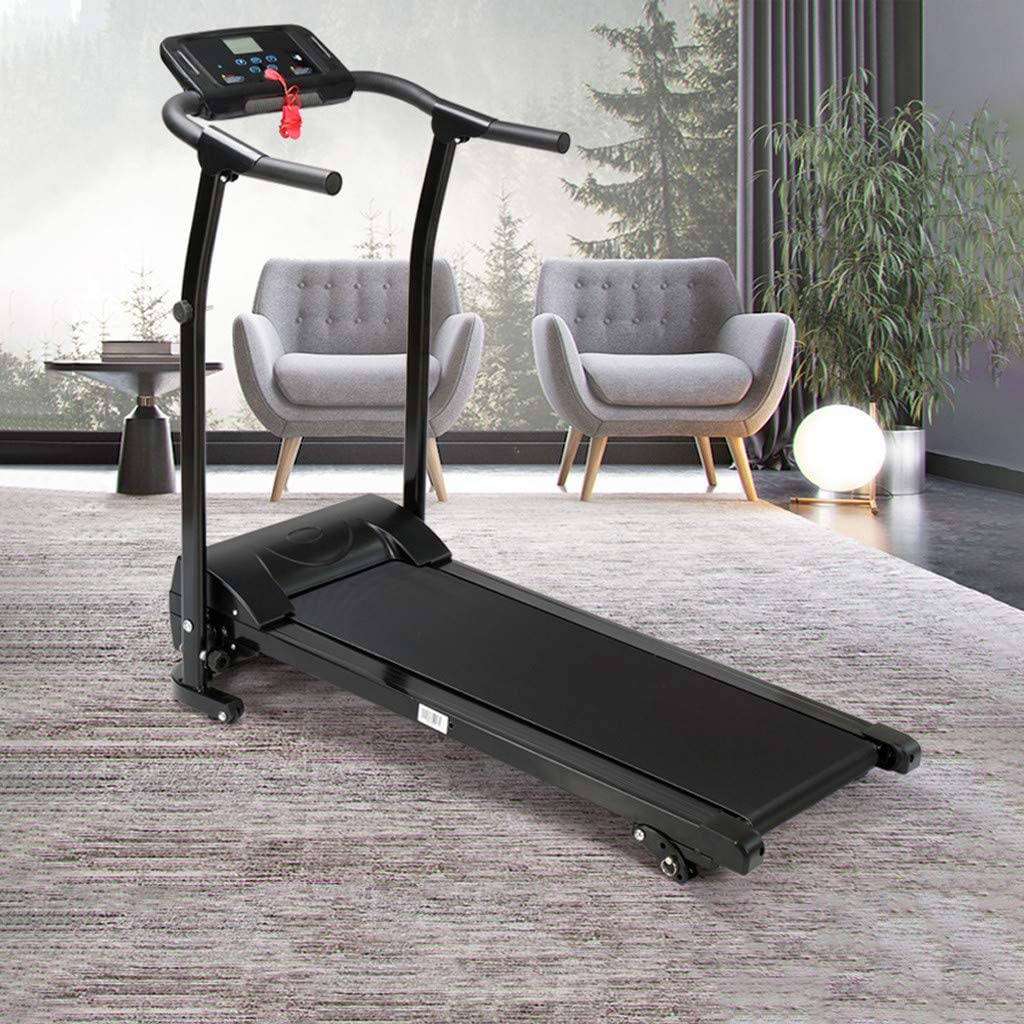 OKBOP Folding Electric Treadmills for Home, Foldable Under Desk Treadmill Machine for Small Space, Auto Incline Compact Mini Motorized Power Running Walking Machine, 300 lbs Weight Capacity
