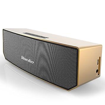 Bluedio BS-3 - Altavoz inalámbrico portátil para móviles (Bluetooth 4.1, 20 Hz