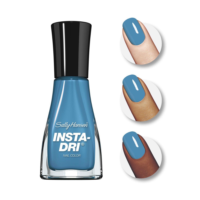 Amazon.com : Sally Hansen Insta-Dri Nail Color: Brisk Blue #430 ...
