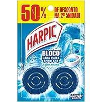 Harpic Limpador e Aromatizador Sanitário para Caixa Acoplada Marine 50g