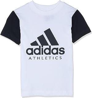 adidas Sports ID Maglietta a Maniche Corte da Ragazzo