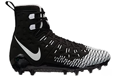 official photos c6ced c74ab NIKE Men s Force Savage Elite TD Football Cleats (9.5, Black White)