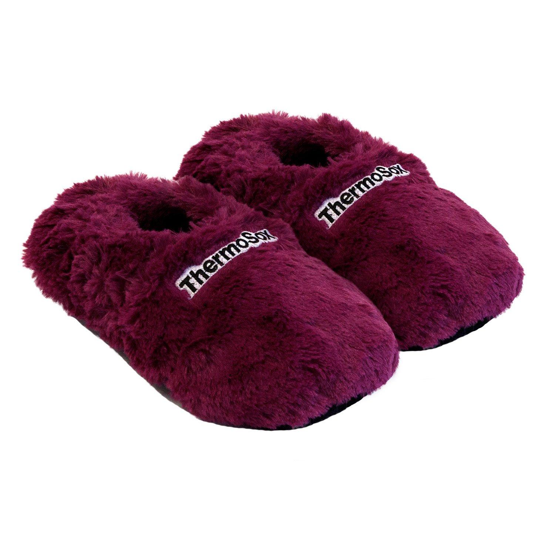 Zapatillas térmicas Pantuflas de granos para el microondas y el horno talla