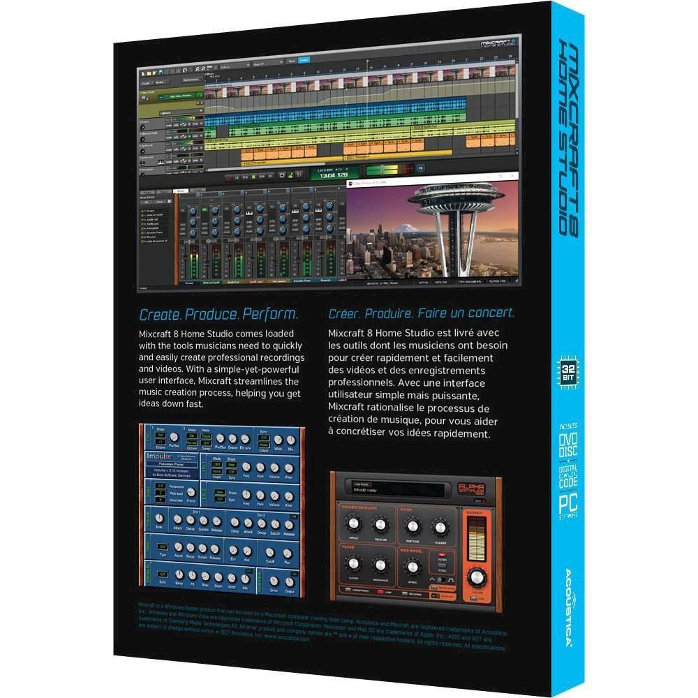 mixcraft 8 home studio plugins
