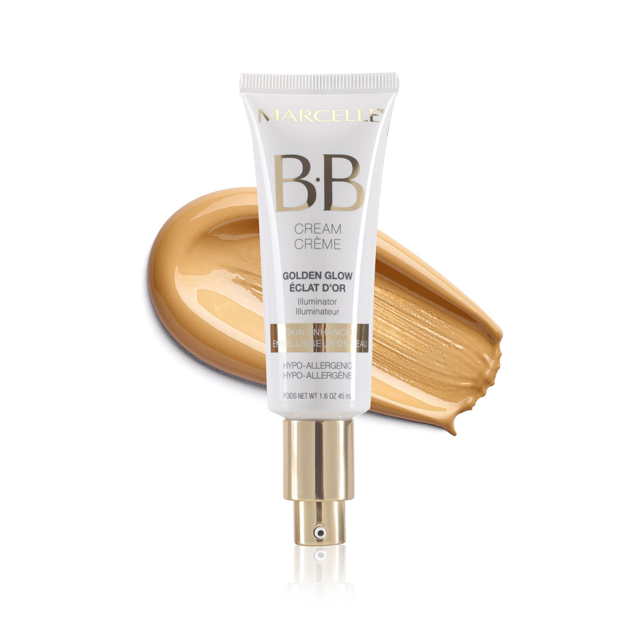 Marcelle Bb Cream Golden Glow Beauty Balm, Universal Shade, Hypoallergenic