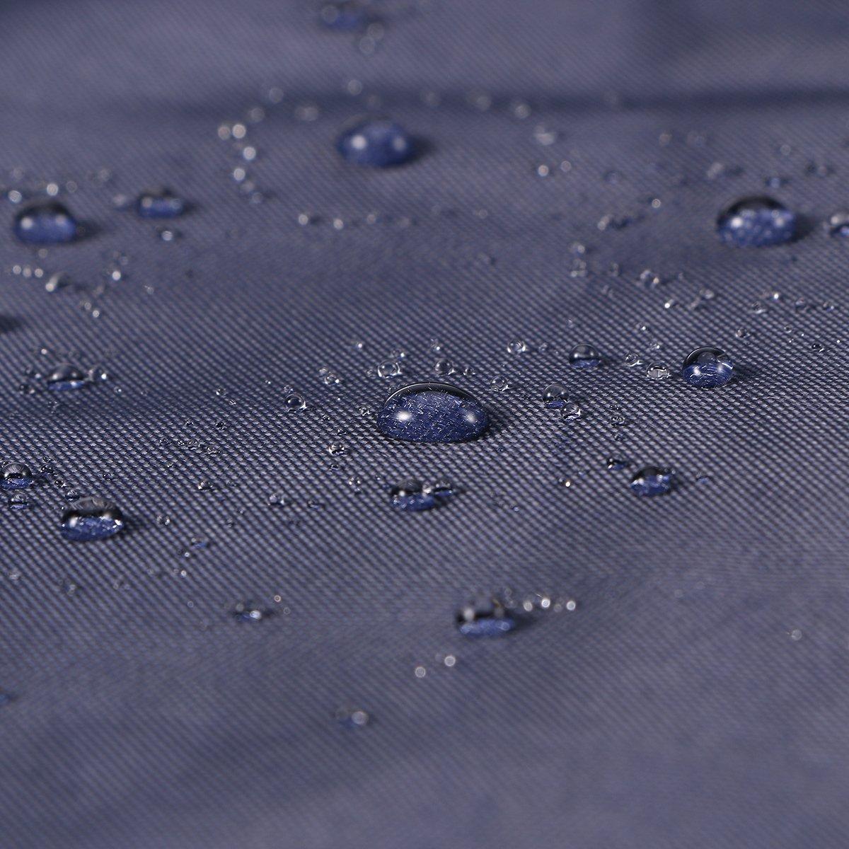 Bleu Marine VORCOOL Hommes Femmes V/élo V/élo Veste De Pluie Cape Poncho /À Capuche Coupe-Vent Manteau De Pluie Couverture De Scooter De Mobilit/é Camping En Plein Air Tente Tapis avec Capuchon Transparent