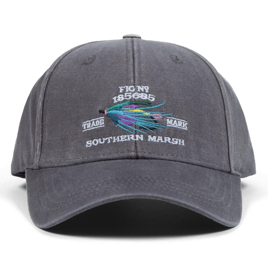 Southern Marsh Men's Gunnison Embroidered Hat, Washed Slate, One Size