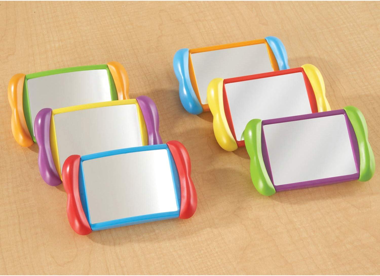 LER3371 Learning Resources- Specchietti 2 in 1 all About Me Set da 6 Colore