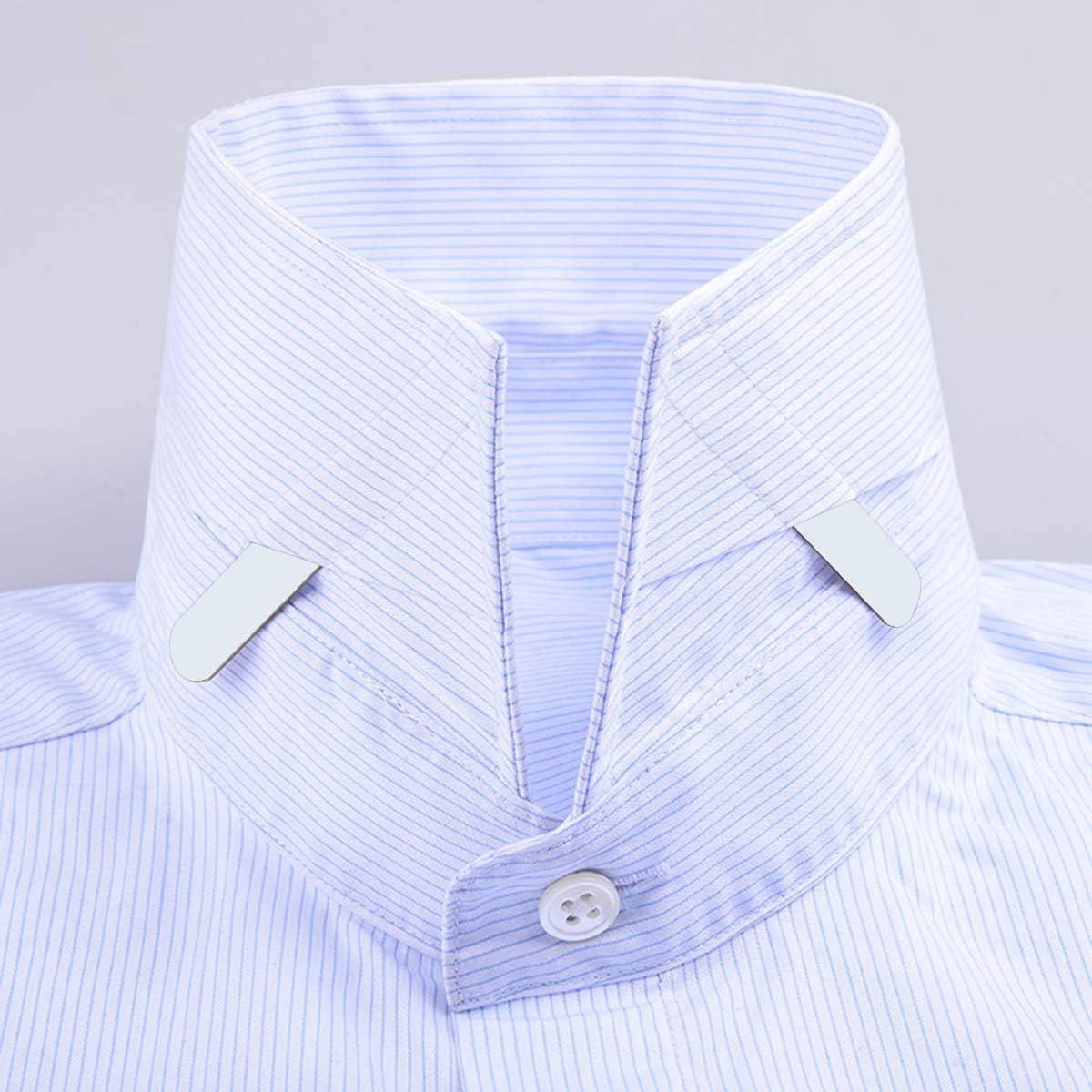SUPVOX 200 Piezas Ballenas para Cuello Camisa Hombre Blanco para Huesos en 3 tamaños: Amazon.es: Hogar