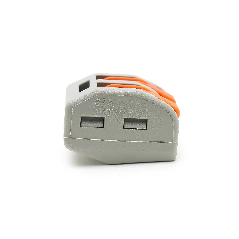 PCT-212 Suyep Compact Splicing connecteur 400 V 28-12 AWG Pct-212//222-412