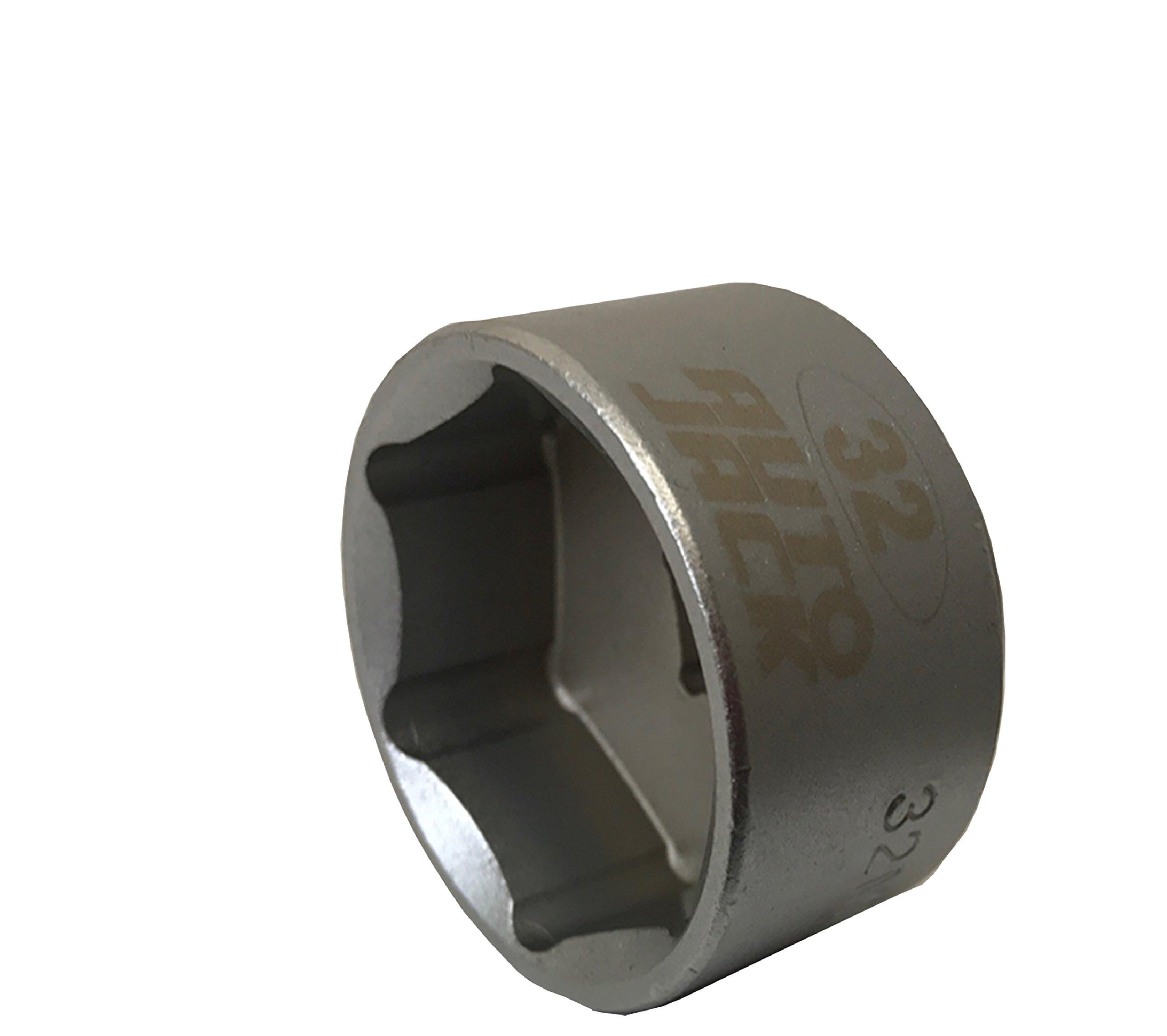Autojack 36mm 3//8 Sq Drive Low Profile Oil Filter Socket 3//8 Garage Removal Tool