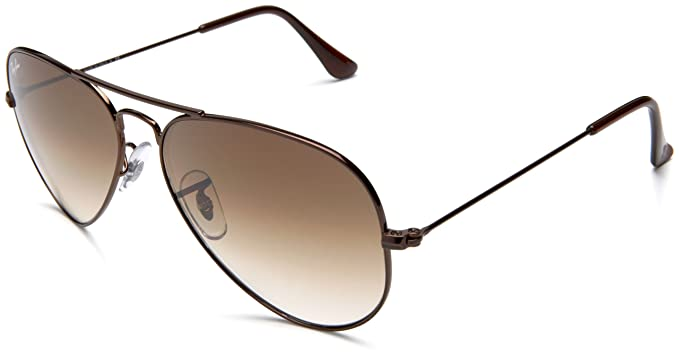 Ray-Ban Classic Aviator Sunglasses, Brown Light Brown  Ray-Ban ... 23710745a1
