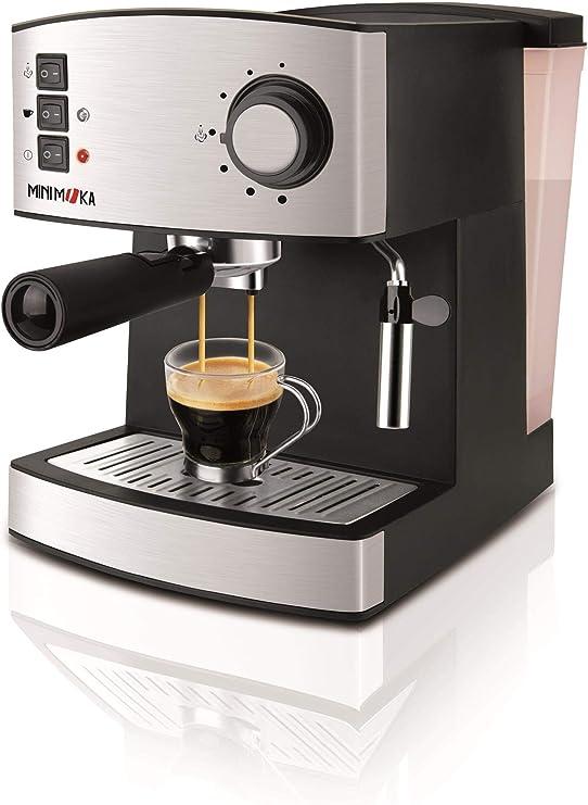 Mini Moka CM-1821 999.319 Cafetera Espreso 15 Bar / 850 W / 1,6 L ...