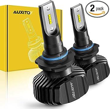 AUXITO H4 9003 HB2 9000LM 100W LED Headlight Bulb Light Hi//Lo Beam Kit 6500K