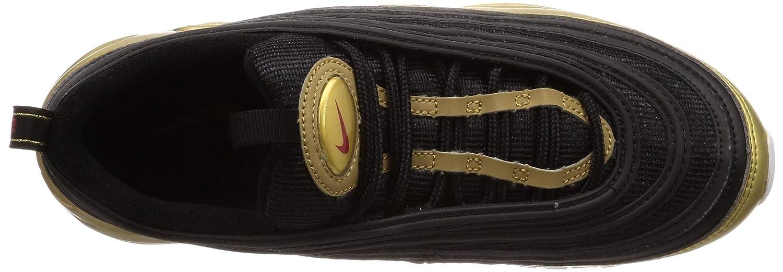 Nike Air MAX 97 QS At5458 002 Chamarra para Hombre, BlackVarsity Red Metallic Gold White, 8.5 M US