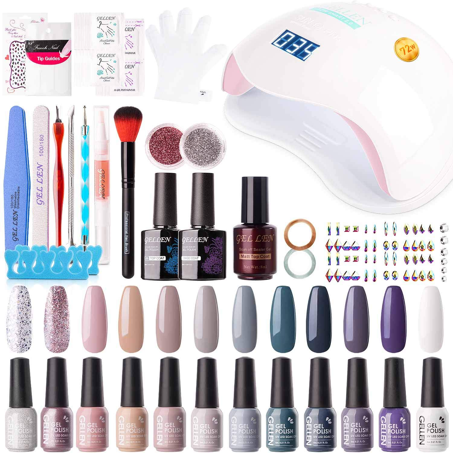 Best nail polish for French manicure base (French nails kits)