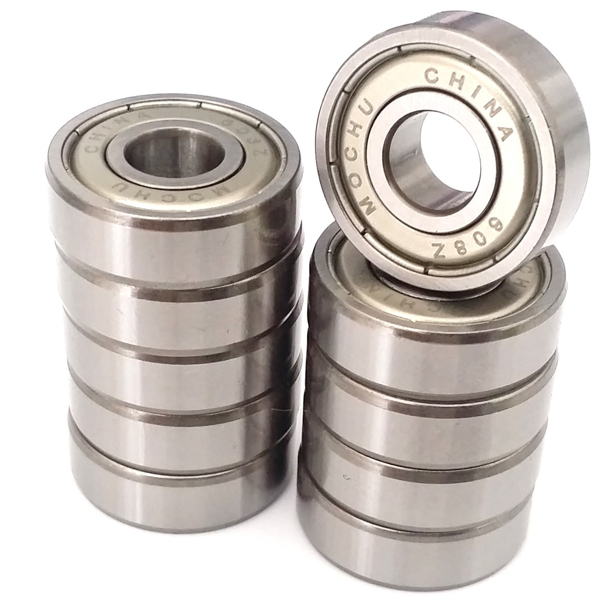Pack of 10 Balls Bearing 608ZZ ID//Bore 8mm//22mm//7mm 608Z By VXB Bearings 608