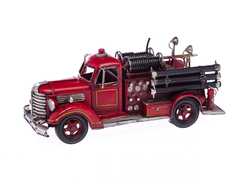 Amazon.de: Feuerwehrauto Modellfahrzeug Feuerwehr antik Stil 41cm ...