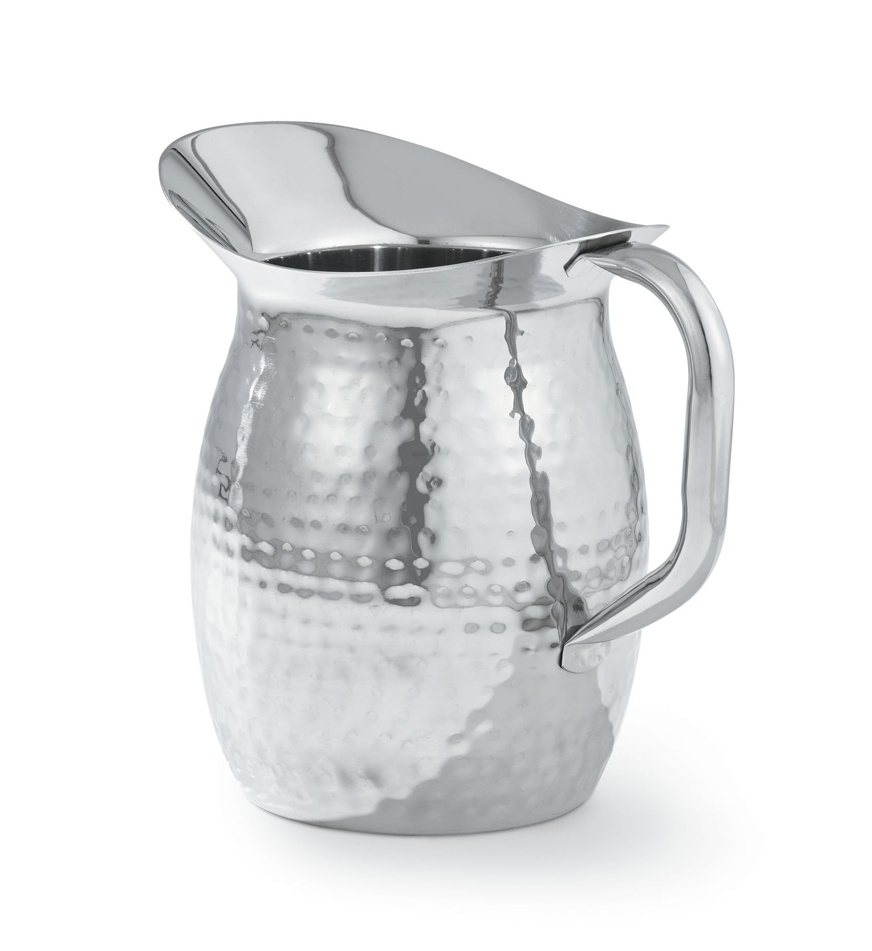 Artisan 2-Quart Double-Wall, Stainless Steel Insulated Serving Pitcher with Hammered Texture by Artisan (Image #1)