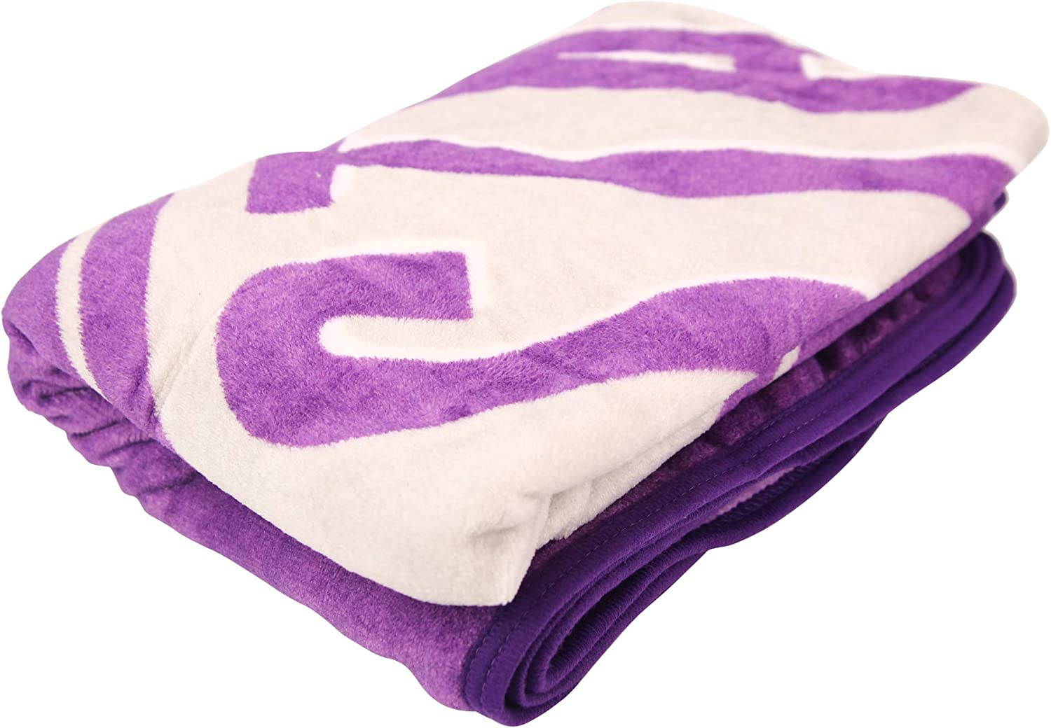 NCAA Collegiate Section Super Soft Plush Throw Blanket