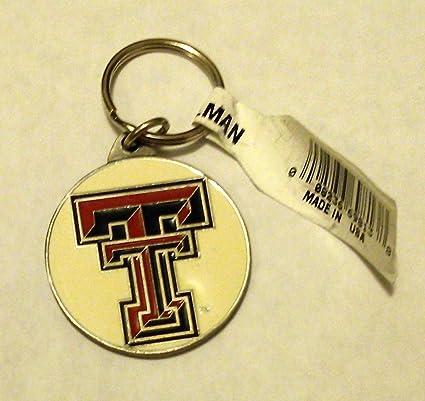 Texas Tech Red Raiders Premium peltre llavero clave cadena ...