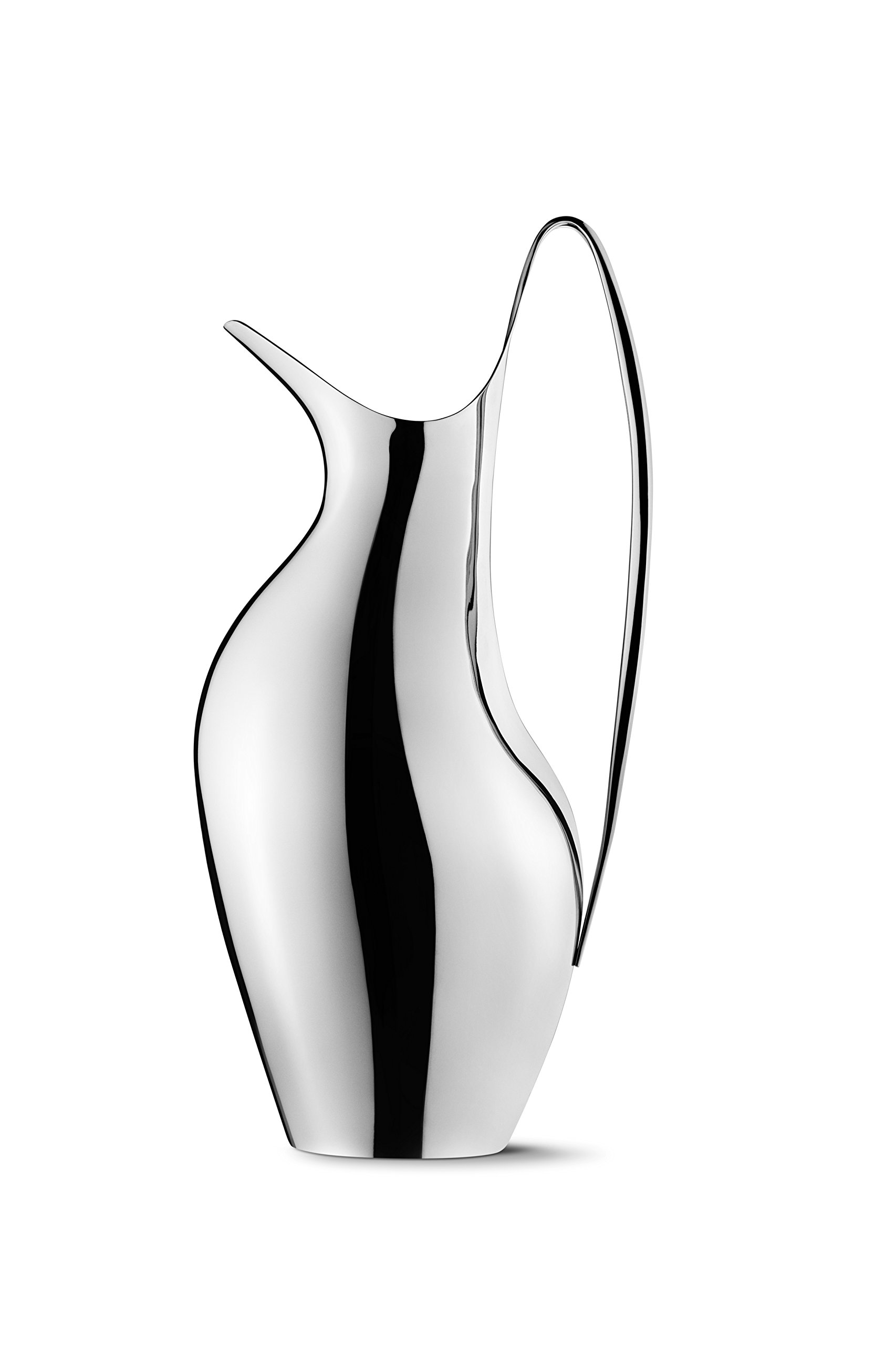 Georg Jensen Georg Jensen Henning Koppel Polished Steel Pitcher by Georg Jensen (Image #1)