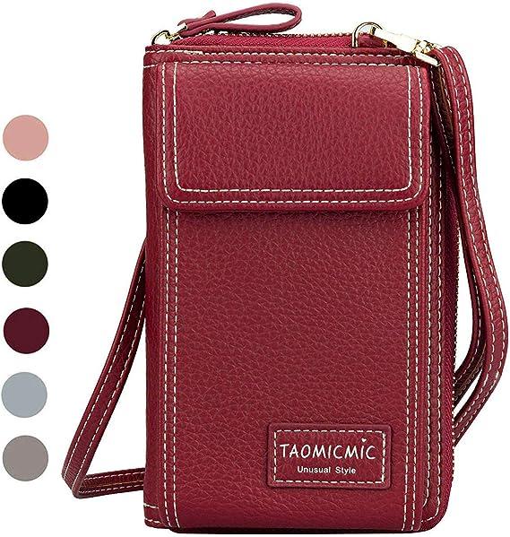 Fashion women PU Leather Wallet Clutch Long Handbag For Iphone Galaxy  12Colors