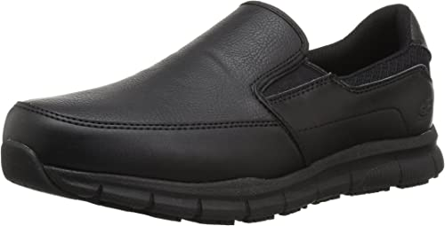 Amazon.com: Skechers Men's Nampa-Groton Food Service Shoe ...