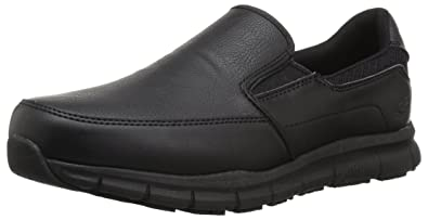 Skechers for Work Men's Alcade Industrial and Construction Shoe, Black, 11 M US