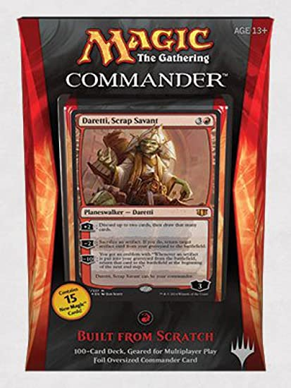 2014 Edition Commander Feldon of The Third Path Magic The Gathering Feldon del Terzo Cammino