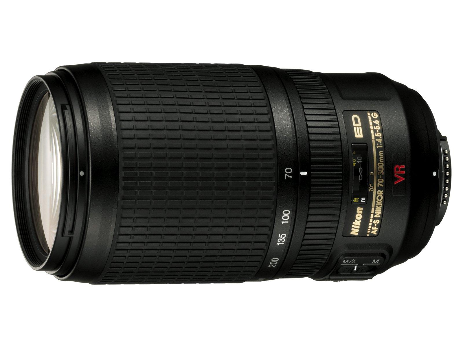 Nikon 70-300mm f/4.5-5.6G ED IF AF-S VR Nikkor Zoom Lens for Nikon Digital SLR Cameras by Nikon