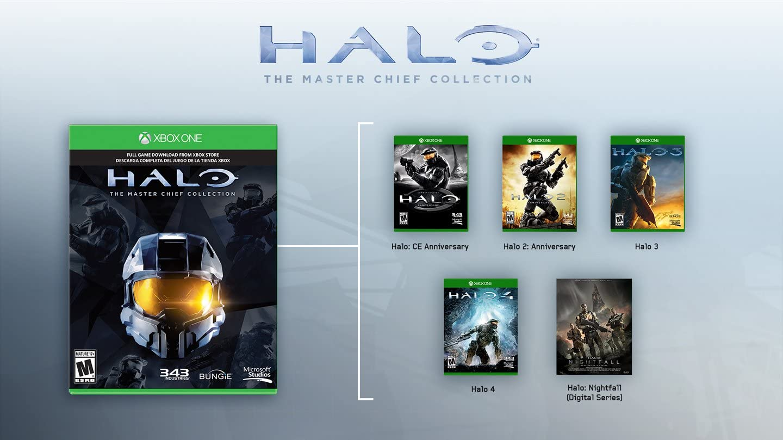 Amazon com: Xbox One 500GB Console - Halo: The Master Chief