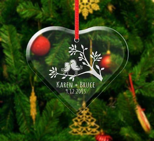 HALLMARK KEEPSAKE ORNAMENT ~ OUR FIRST CHRISTMAS TOGETHER ~ HEART BIRDS ~ 2018